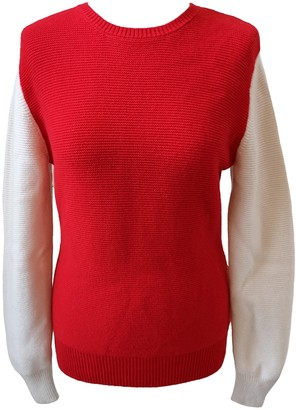 J.W.Anderson Red Cashmere Knitwear