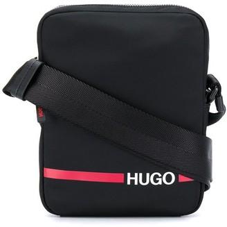 HUGO BOSS Logo Print Shoulder Bag
