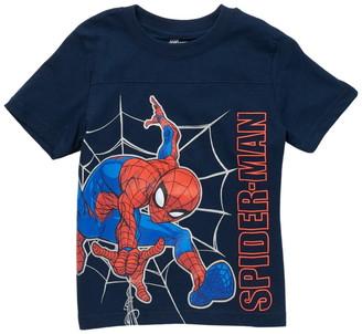 Isaac Morris Spiderman Web Slinging T-Shirt