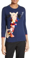 Kate Spade Women's Embellished Camel Sweater