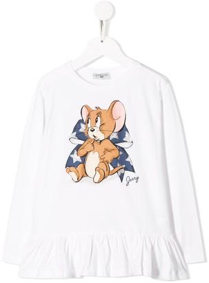 MonnaLisa long-sleeved Jerry T-shirt