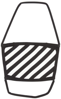 Off-White Diagonals Face Covering