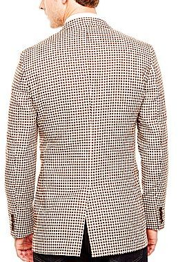 JCPenney Stafford® Gingham Sport Coat - Portly