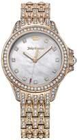 Juicy Couture Malibu Silver Tone Dial Stainless Steel Bracelet Ladies Watch