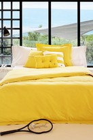 Lacoste Brushed Twill Comforter Set - Lemon Drop