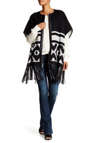 BCBGeneration Fringe Cape