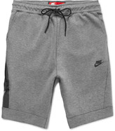 Nike Cotton-Blend Tech-Fleece Shorts