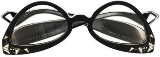 Gucci Cat-Eye Logo Glasses
