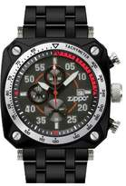 Zippo Men's Chronoghraph Multi Function Sports Watch 45019 With Black Dial