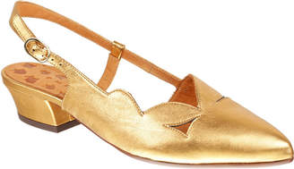 Chie Mihara Rune Suede Slingback Flats