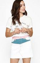 PacSun Colorblock Yoke Skirt