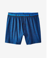 Express moisture-wicking performance knit boxers