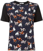 MSGM cats print T-shirt - women - Cotton - S