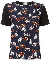 MSGM cats print T-shirt