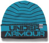 Under Armour Boys' UA Cuff Stripe Beanie