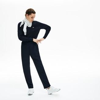 Lacoste Women's Side-Stripe Track Pants
