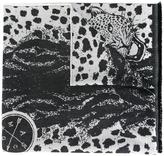 Alexander McQueen large skull scarf