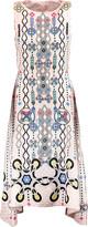 Peter Pilotto Printed silk-jacquard dress