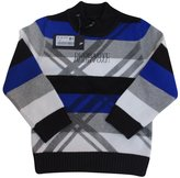 XiaoYouYu Little Boy's Casual Contrast Color Long Sleeve Insulated Pullovers US Size 4T