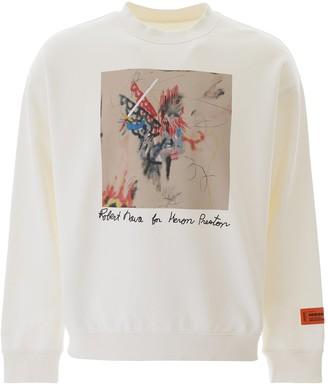 Heron Preston X Robert Nava Graphic Printed Sweatshirt