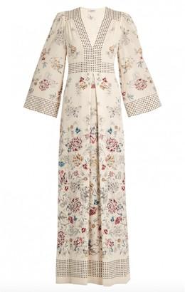 Vilshenko Ecru Silk Dresses