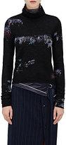 Sies Marjan Women's Club Kids Intarsia Turtleneck Sweater
