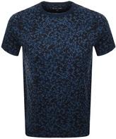 Michael Kors Camouflage PrintT Shirt Navy