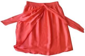 Paul & Joe Pink Silk Skirt for Women