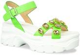 Chase & Chloe Dolly Jeweled Strap Sporty Platform Sandal