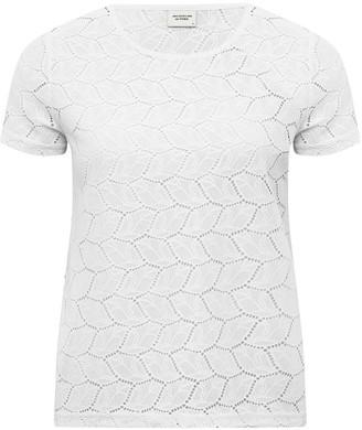 M&Co JDY crochet lace t-shirt