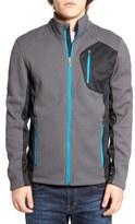 Spyder Men's Lightweight Colorblocked Zip-Up Jacket