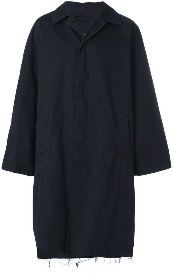 Balenciaga Bal Washed Car Coat