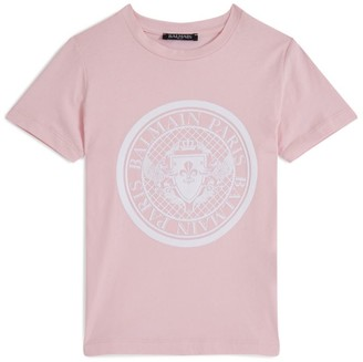 Balmain Kids Coin Short-Sleeve T-Shirt