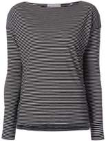 Vince pencil stripe blouse