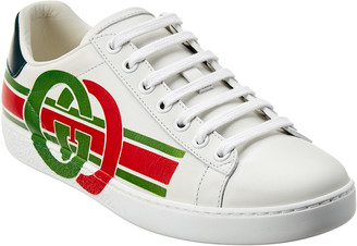 Gucci Ace Interlocking G Leather Sneaker