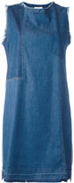 Semi-Couture Semicouture - denim sleeveless dress - women - Cotton - 40