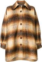 Chloé haze striped coat