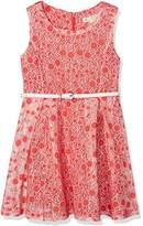 Yumi Girl's Cherry Burnout Dress