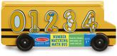 Melissa & Doug Bus scolaire pour apprendre à compter Yellow