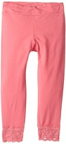Splendid Littles Seasonal Basics Leggings with Lace Bottom Girl's Casual Pants