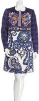 Mary Katrantzou 2016 Iona Printed Coat w/ Tags