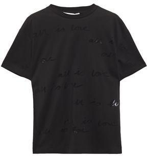 Stella McCartney Burnout Jersey T-shirt