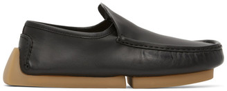 Bottega Veneta Black Driver Loafers