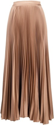 Styland High-Waisted Pleated Skirt