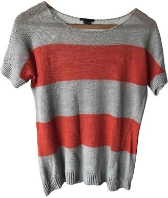 Theory Grey Linen Knitwear for Women