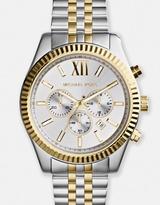 Michael Kors Lexington Two-Tone Chronograph Watch