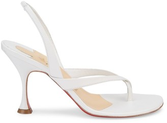 Christian Louboutin Taralita Leather Slingback Thong Sandals