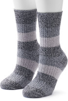 Columbia Women's 2-pk. Marled Stripe Crew Socks