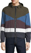 Valentino Zip-Up Wind Resistant Jacket