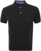 Tommy Hilfiger Tommy Polo T Shirt Black